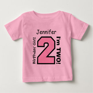2nd BABY Birthday Big Sports Number A10. Baby T-Shirt