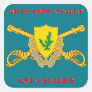 2ND BATTALION 12TH CAVALRY 1ST CAVALRY STICKERS
