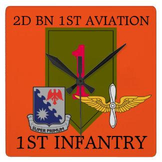 2ND BATTALION 1ST AVIATION 1ST INFANTRY CLOCK