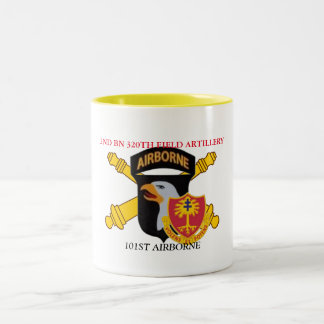 2ND BATTALION 320TH FIELD ARTILLERY 101ST ABN MUG