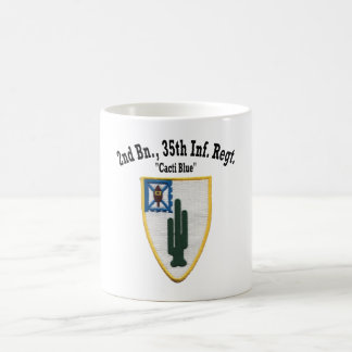 """2nd Battalion, 35th Inf """"Cacti Blue"""" - Cup"""