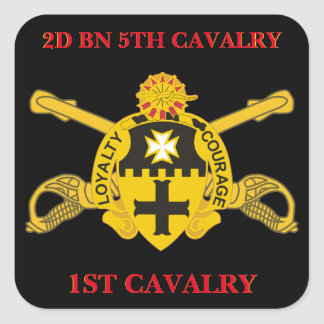 2ND BATTALION 5TH CAVALRY 1ST CAVALRY STICKERS