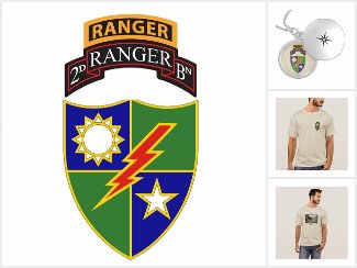 2nd Battalion - 75th Ranger Regiment w/ Ranger Tab