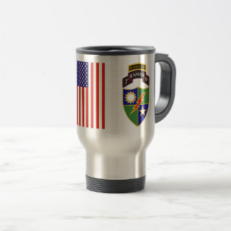 2nd Battalion - 75th Ranger w/Tab Travel Mug