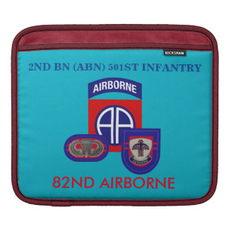 2ND BATTALION (ABN) 501ST INFANTRY iPAD SLEEVE
