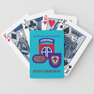 2ND BATTALION (ABN) 501ST INFANTRY PLAYING CARDS