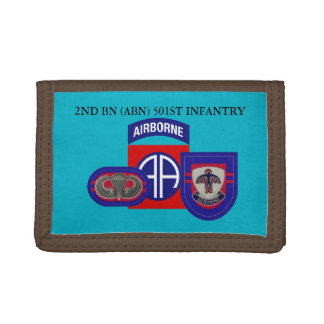 2ND BATTALION (ABN) 501ST INFANTRY WALLET