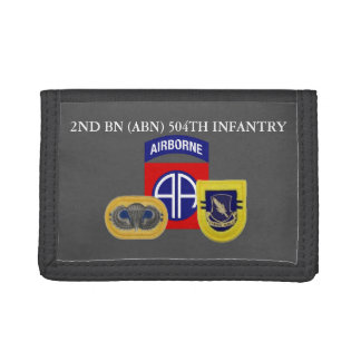 2ND BATTALION (ABN) 504TH INFANTRY WALLET