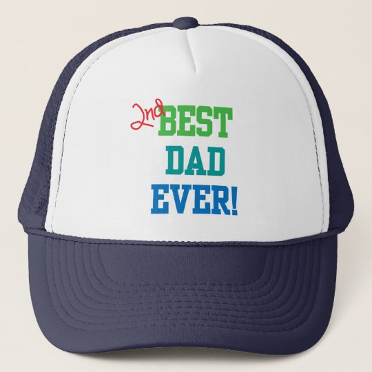 599cd59f013 2nd Best Dad Ever Hat
