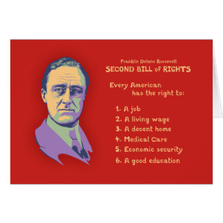 2nd Bill of Rights Card