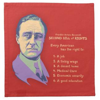 2nd Bill of Rights Cloth Napkin