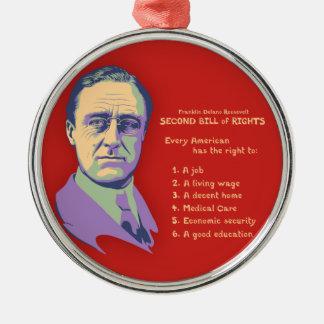 2nd Bill of Rights Metal Ornament