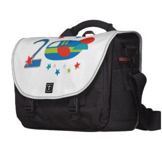 2nd Birthday Airplane Laptop Bags