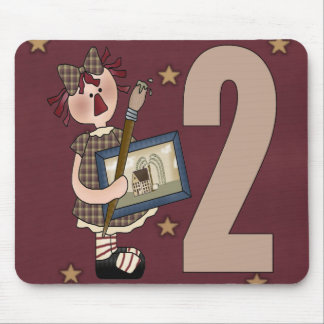 2nd Birthday Artist Mouse Pad
