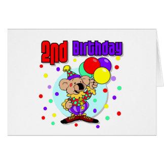 2nd Birthday Australia Birthday Greeting Cards