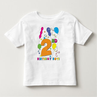 2nd Birthday Boy! Tee Shirt