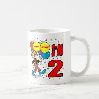 2nd Birthday Clown Birthday Coffee Mug
