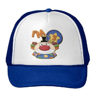 2nd Birthday Clown Birthday Hats