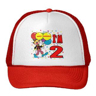 2nd Birthday Clown Birthday Mesh Hat