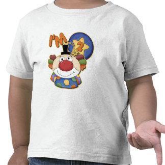 2nd Birthday Clown Birthday T-shirts