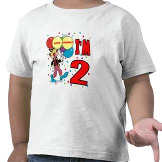 2nd Birthday Clown Birthday T Shirt