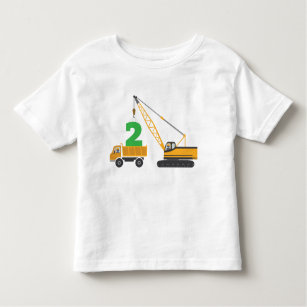 853b52ab605 Construction Birthday T-Shirts - T-Shirt Design   Printing