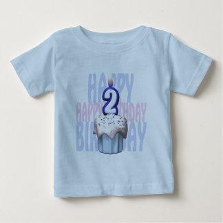 2nd Birthday Cupcake Birthday Baby T-Shirt