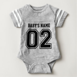 2nd Birthday (Customizable Baby's Name) Baby Bodysuit