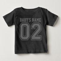 2nd Birthday (Customizable Baby's Name) Baby T-Shirt