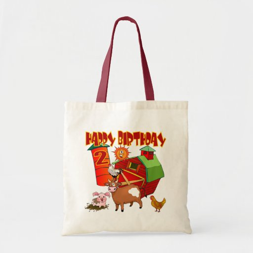 2nd Birthday Farm Birthday Bags
