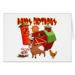 2nd Birthday Farm Birthday Cards