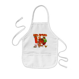 2nd Birthday Farm Birthday Kids' Apron