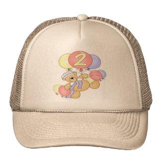 2nd Birthday Floating Bear Hat