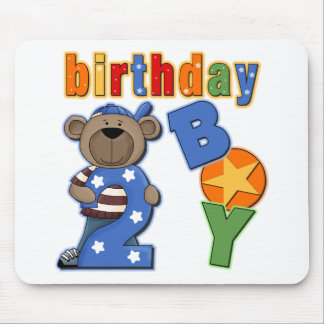2nd Birthday Gift Mouse Pad