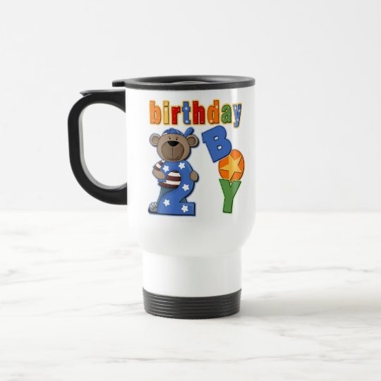 2nd Birthday Gift Travel Mug