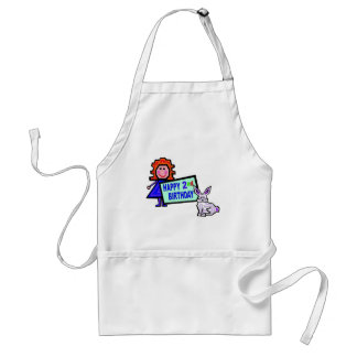 2nd Birthday Girl Gifts Apron