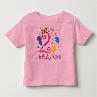 2nd Birthday Girl! T Shirts