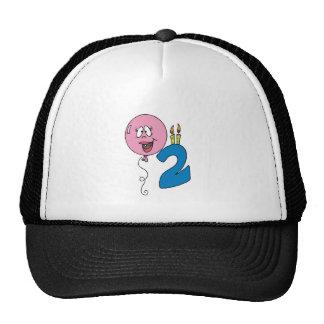2nd Birthday Hat Cap Gift