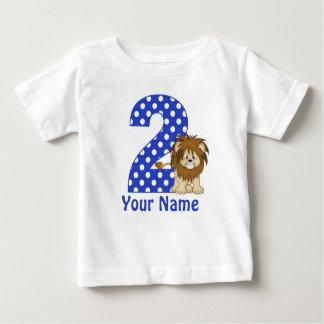 2nd Birthday Lion Personalized Shirt