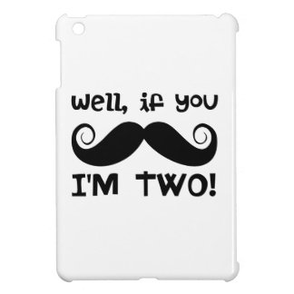 2nd Birthday Mustache Cover For The iPad Mini