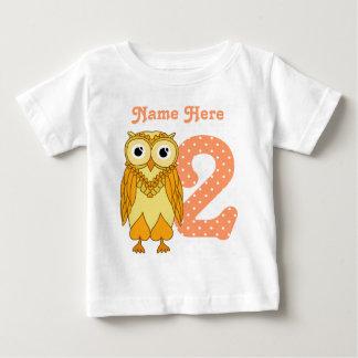 2nd Birthday Owl Baby T-Shirt