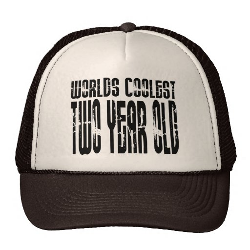 2nd Birthday Parties : Worlds Coolest Two Year Old Mesh Hats