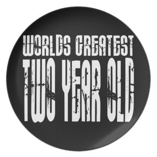 2nd Birthday Party Worlds Greatest Two Year Old Party Plates