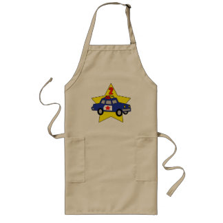 2nd Birthday Police Officer Long Apron