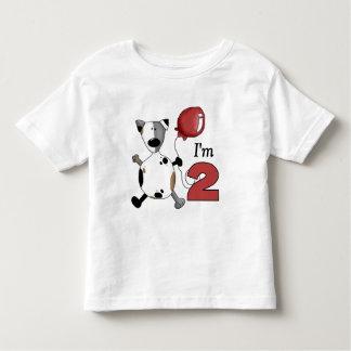 2nd Birthday Puppy Birthday Toddler T-shirt