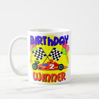 2nd Birthday Race Car Birthday Coffee Mug