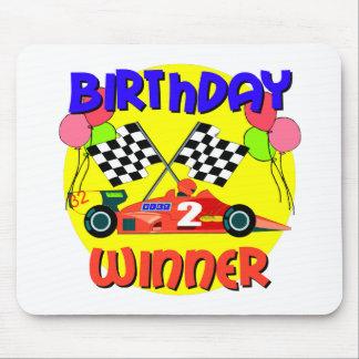 2nd Birthday Race Car Birthday Mouse Pad