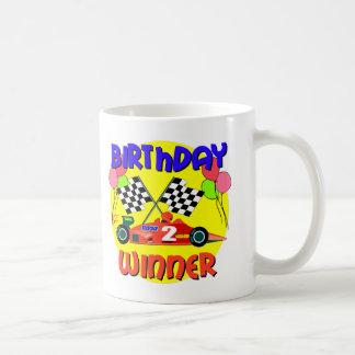 2nd Birthday Race Car Birthday Classic White Coffee Mug