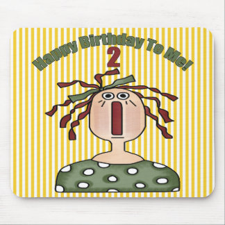 2nd Birthday Rag Doll Mouse Pad