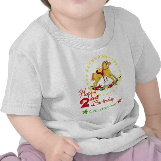 2nd Birthday Rocking Horse Shirts